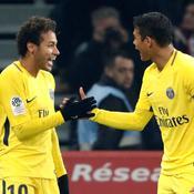 Neymar et Thiago Silva