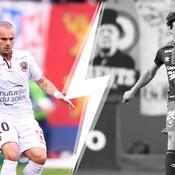 Tops/Flops Caen-Nice : Sneijder enfin à son avantage, Santini a tout manqué