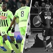 Tops/Flops de la soirée de Ligue 1 : Kanga bourreau de Strasbourg, Caen en panne sèche