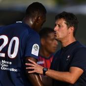 Un baptême du feu face au PSG pour l'entraîneur de Caen