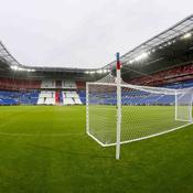 Visite guidée du nouveau stade de Lyon avant l'inauguration