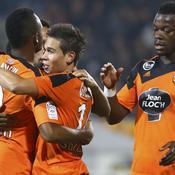 Lorient prend les points importants