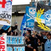 Les supporters de l'OM
