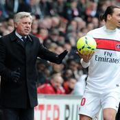 Carlo Ancelotti-Zlatan Ibrahimovic