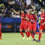 Edinson Cavani et les Parisiens victorieux face à Leicester