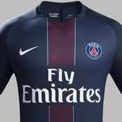 La nouvelle tenue domicile du PSG pour la saison 2016-2017
