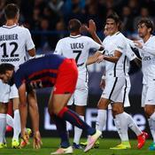 Le PSG et Cavani se vengent sur Caen