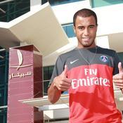 Lucas Moura est à Doha
