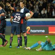 Paris SG - Nice Zlatan Ibrahimovic
