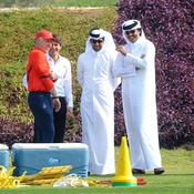 Carlo Ancelotti, Leonardo, Nasser Al Khelaifi et le Cheikh Tamim bin Hamad Al Thani