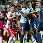 Le bagarre entre Havre-AC Ajaccio