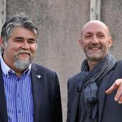 Jérôme Ducros et Fabien Barthez