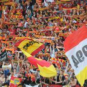 Les supporters lensois