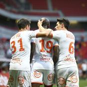 Ligue 2 : Lorient prend seul la tête après le faux pas de Clermont