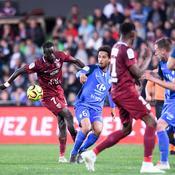 Metz rate le coche, Brest assure, Lorient assomme Lens