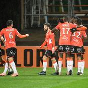 Lorient s'impose face à Caen, 2-1
