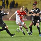 Monaco cale, Guingamp s'arrache
