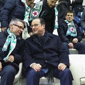 Pourquoi François Hollande rend visite au Red Star