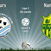 Tours-Nantes en direct