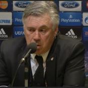 Ancelotti : «Je n'ai pas aimé la façon dont on a joué»