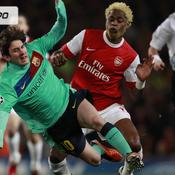 Arsenal-Barcelone en images