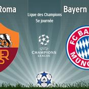 AS Roma-Bayern Munich, LIVE