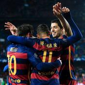 La MSN déroule face à Arsenal, le Barça file en quarts