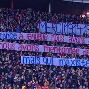 Belgrade-PSG : la banderole serbe qui s'adresse à «la France qui n'existe plus»