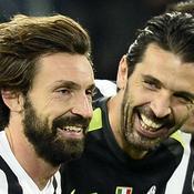 Buffon-Pirlo : les vétérans de la Juve rêvent de remonter le temps