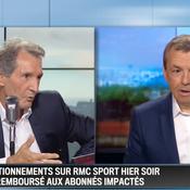 Bug de RMC Sport : Bourdin et Weill s'excusent et confirment le remboursement des abonnés