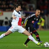 Leverkusen - Paris SG Zlatan Ibrahimovic