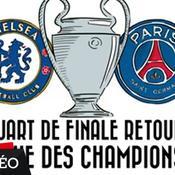 Chelsea-PSG, version dessin animé