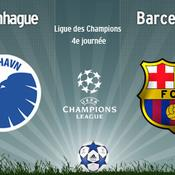 Copenhague-Barcelone en direct