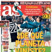AS questionne l'extra-terrestre Ronaldo
