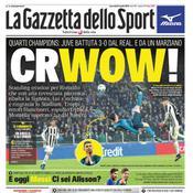 La Gazzetta dello Sport bouche bée