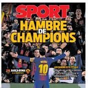 Le Barça par dessus tout pour Sport