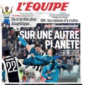 Ronaldo est «sur une autre planète» pour L'Equipe