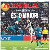 «Tu es le meilleur», clame A Bola