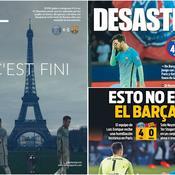 «Désastre», «massacre», «Trafalgar» : la presse espagnole accable le Barça après sa déroute face au PSG