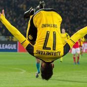Dortmund et Aubameyang balaient Benfica