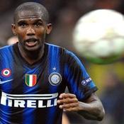 Samuel Eto'o a déjà inscrit 12 buts avec l'Inter cette saison