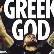 «Héros», «Dieu grec» : Giroud encensé par la presse anglaise