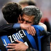 Bayern Munich - Inter Milan José Mourinho Javier Zanetti
