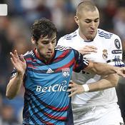 Real Madrid - Lyon Yoann Gourcuff Karim Benzema.