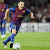 Andres Iniesta Barcelone