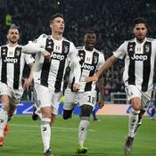La Juve et un immense Ronaldo écrasent l'Atlético de Griezmann