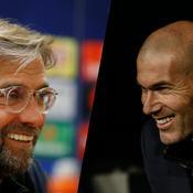 Klopp-Zidane, le match des entraîneurs que tout oppose