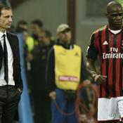 Massimiliano Allegri Mario Balotelli AC Milan