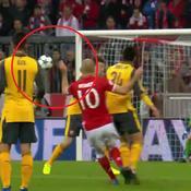 La frappe enroulée exceptionnelle de Robben face à Arsenal