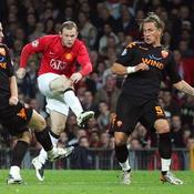 Wayne Rooney Manchester United Philippe Mexes AS Roma